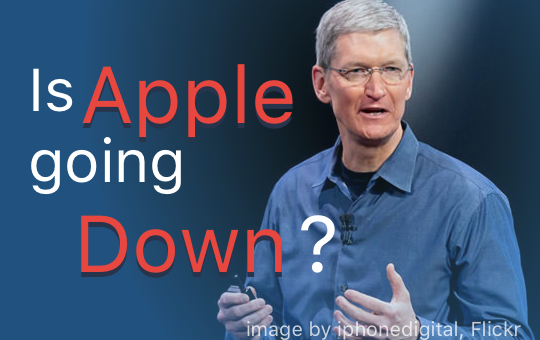 Featured Image of Tim Cook talking at WWDC. Image obtained from Flicker, https://www.flickr.com/photos/iphonedigital/22522566994